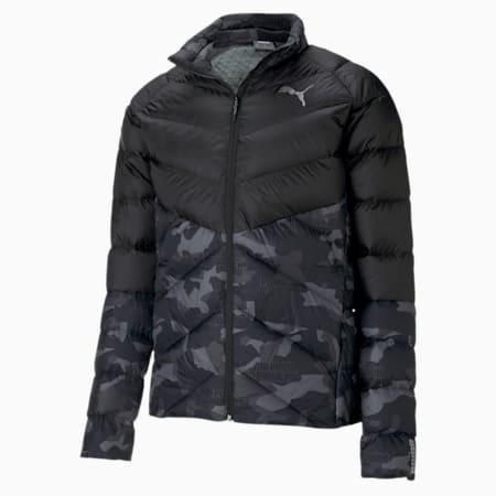 PWRWarm packLITE Men's AOP Jacket, Puma Black, small