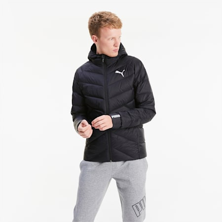 PWRWarm packLITE Down Men's Jacket, Puma Black, small
