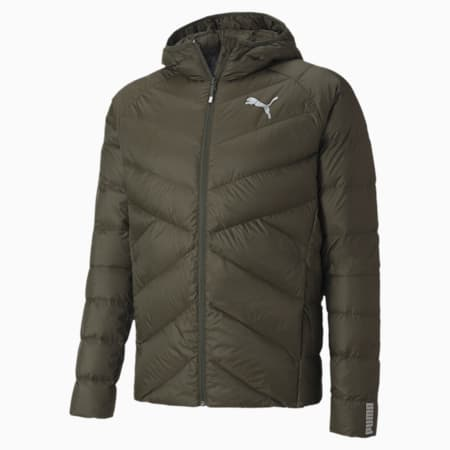 PWRWarm packLITE Down Men's Jacket, Forest Night, small