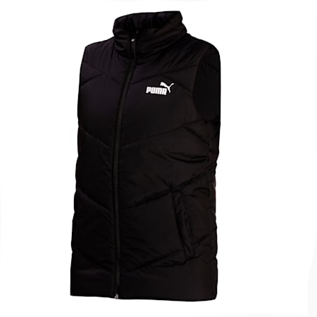 ESS Padded Water Repellent Women's Gilet, Puma Black, small-IND