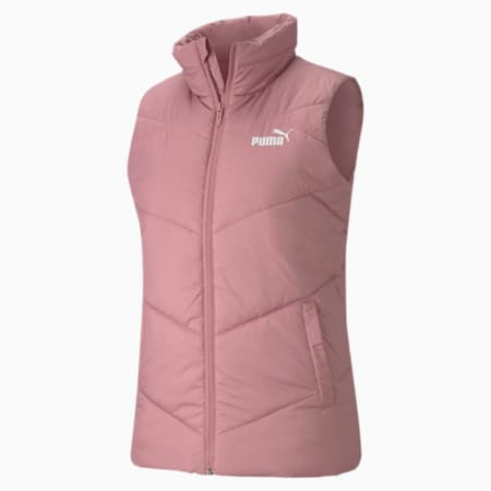 ESS Padded Water Repellent Women's Gilet, Foxglove, small-IND
