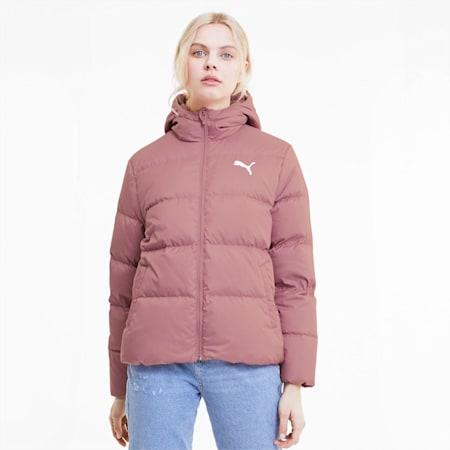 Essentials+ Women's Down Jacket, Foxglove, small
