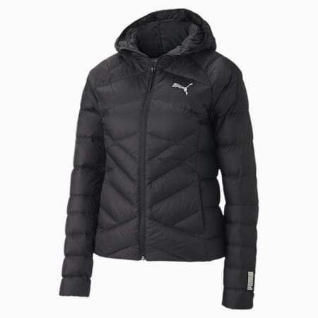 PWRWarm PackLITE Hooded Women's Down Jacket, Puma Black, small-IND