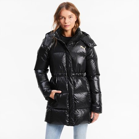 Cocoon Down Women's Coat, Puma Black, small