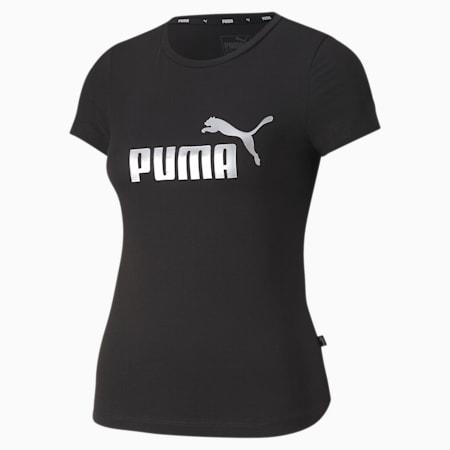 Essentials+ Girls' Tee, Puma Black, small