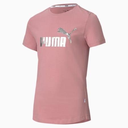 Dziewczęca koszulka Essentials+, Foxglove, small