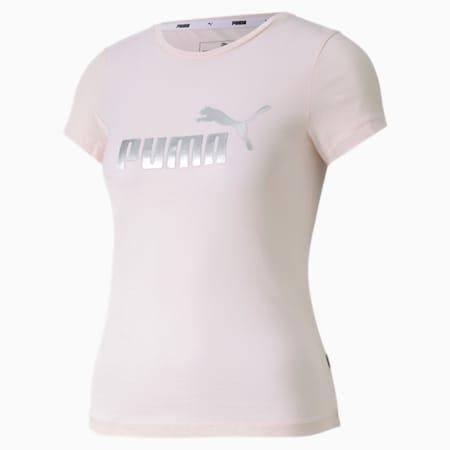 Camiseta para niña Essentials+, Rosewater, small