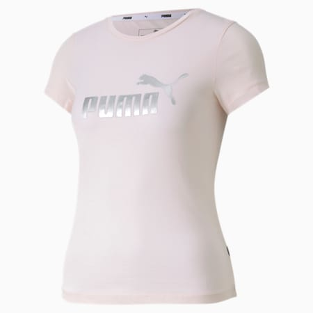 Dziewczęca koszulka Essentials+, Rosewater, small