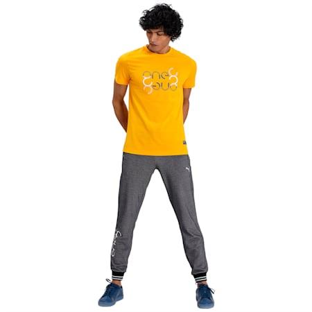 PUMA x Virat Kohli Graphic Men's T-Shirt, Saffron, small-IND