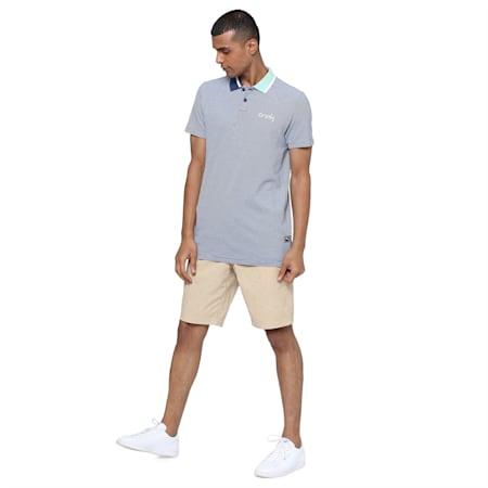 PUMA x Virat Kohli Stylised Men's Polo, Dark Denim, small-IND