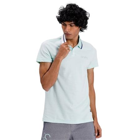 PUMA x Virat Kohli Stylised Men's Polo, Mist Green, small-IND