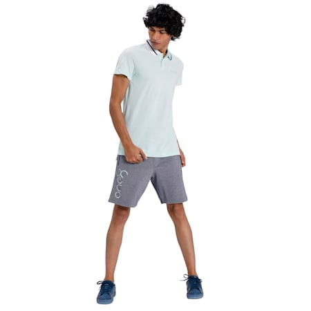 PUMA x Virat Kohli Stylised Men's Polo, Mist Green, small-IND