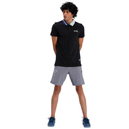 PUMA x Virat Kohli Stylised Men's Polo, Puma Black, small-IND
