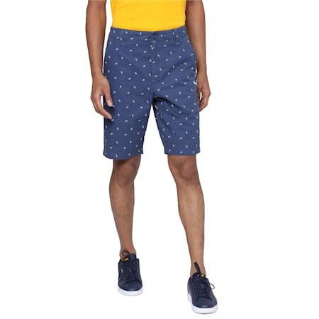 PUMA x Virat Kohli Knitted Men's Chino Shorts, Dark Denim, small-IND
