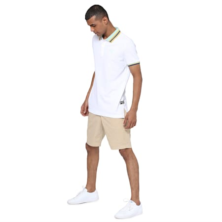 PUMA x Virat Kohli Men's Polo T-Shirt, Puma White, small-IND