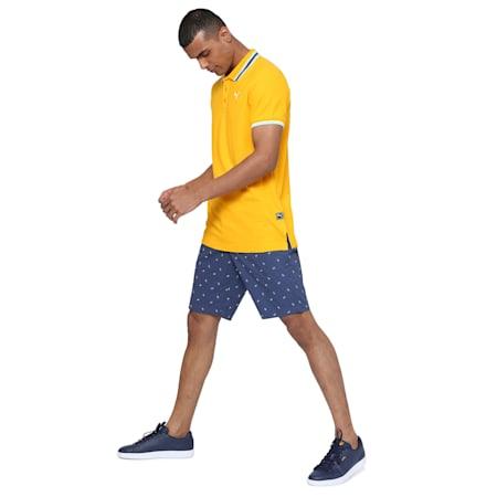 PUMA x Virat Kohli Men's Polo T-Shirt, Saffron, small-IND