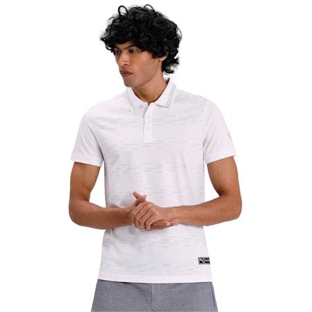 PUMA x Virat Kohli Men's Polo, Puma White, small-IND