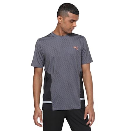 PUMA x Virat Kohli Active Graphic Men's T-Shirt, Puma Black, small-IND