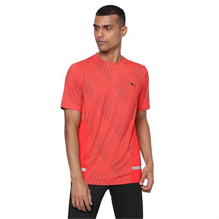 PUMA x Virat Kohli Active Graphic Men's T-Shirt, Lava Blast, small-IND