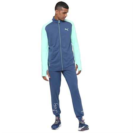 PUMA x Virat Kohli Active Men's Jacket, Dark Denim, small-IND