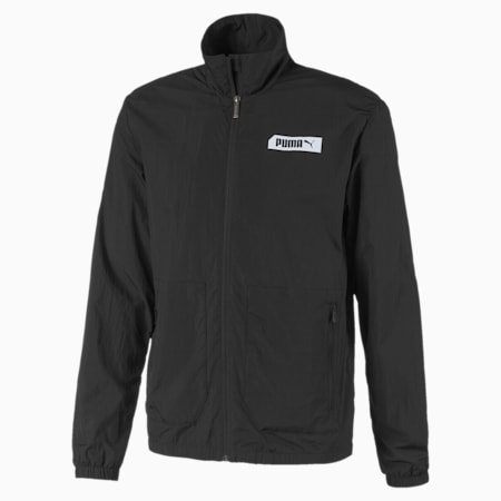 PUMA Men's Nu-tility Woven Jacket, Puma Black, small-SEA