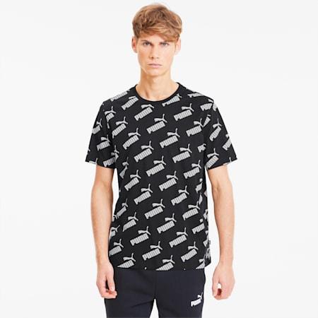 AMPLIFIED AOP Tシャツ 半袖, Puma Black, small-JPN