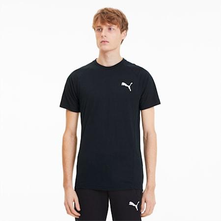 EVOSTRIPE Tシャツ 半袖, Puma Black, small-JPN