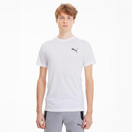 EVOSTRIPE Tシャツ 半袖, Puma White, small-JPN