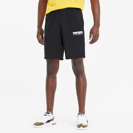 REBEL Bold Men's Shorts, Puma Black, small-SEA