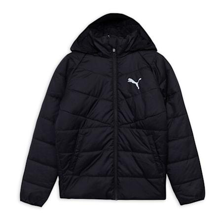 CB Padded Kid's Jacket, Puma Black, small-IND