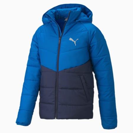 CB Boys' Padded Jacket, Peacoat, small