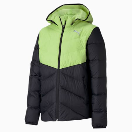 PackLITE Kids' Down Jacket, Sharp Green, small