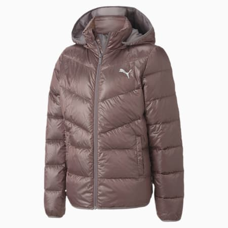 Light Kids' Down Jacket, Foxglove, small