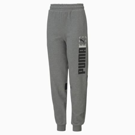 Active Sports Youth Sweatpants, Medium Gray Heather, small-SEA