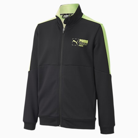 Active Sports Full-Zip Youth Jacket, Puma Black, small-SEA