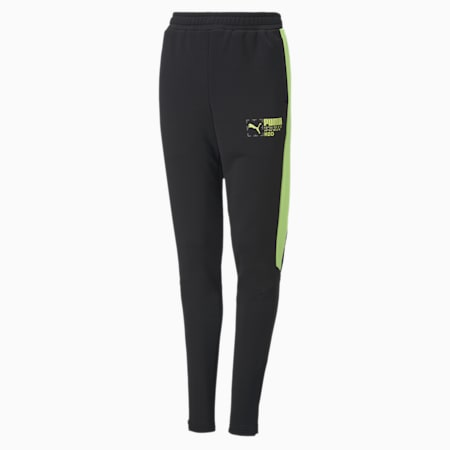 Active Sports Youth Pants, Puma Black, small-SEA