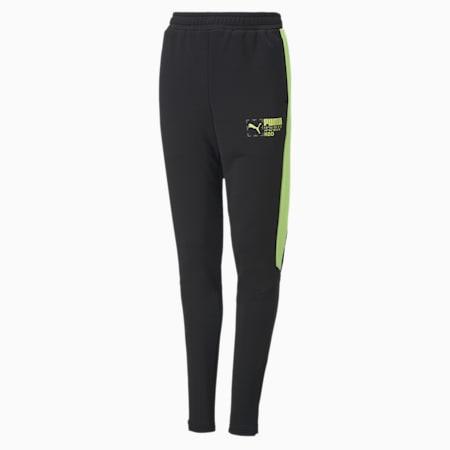 Active Sports Youth Pants, Puma Black, small-SEA