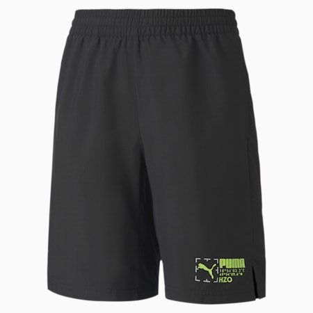 Active Sports Woven Youth Shorts, Puma Black, small-GBR