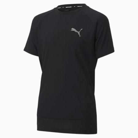 Evostripe Youth T-Shirt, Puma Black, small