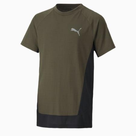 T-shirt da ragazzo Evostripe, Forest Night, small