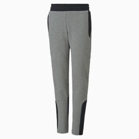 Pantaloni Evostripe ragazzo, Medium Gray Heather, small