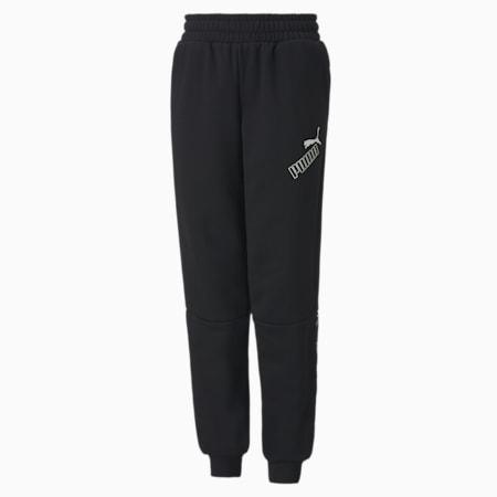 Amplified Youth Sweatpants, Puma Black, small-GBR