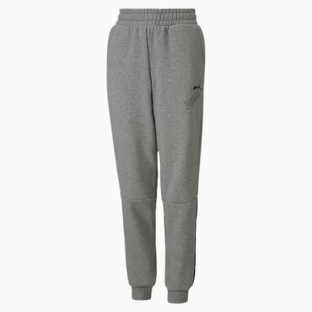 Amplified Youth Sweatpants, Medium Gray Heather, small-GBR