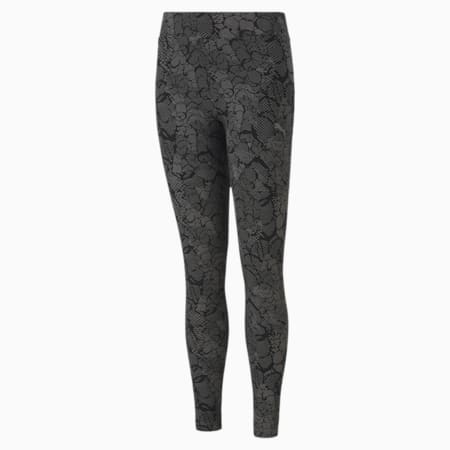 Graphic All-Over Print Youth Leggings, Puma Black, small