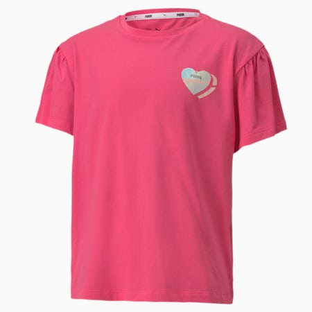 Alpha Style Youth Tee, Glowing Pink, small-SEA