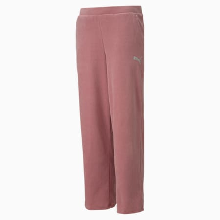 Alpha Velvet Kid's Pants, Foxglove, small-IND