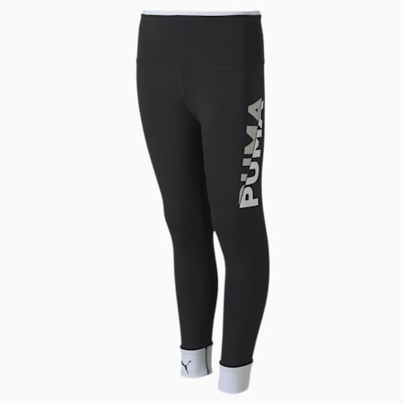 Leggings sportivi Modern Youth, Puma Black-Puma White, small