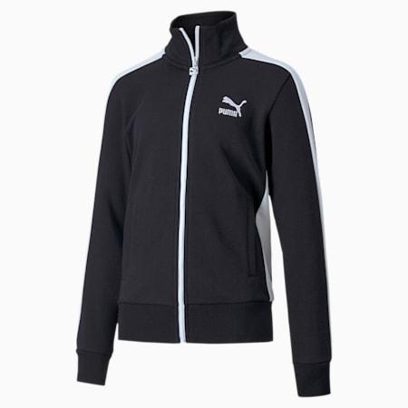 Classics T7 Girls' Track Jacket, Puma Black, small
