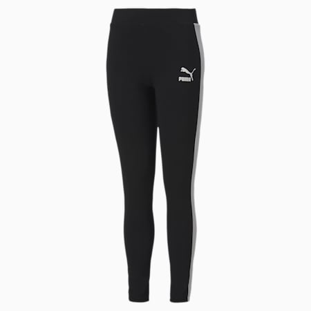 Classics T7 Youth Leggings, Puma Black, small-SEA