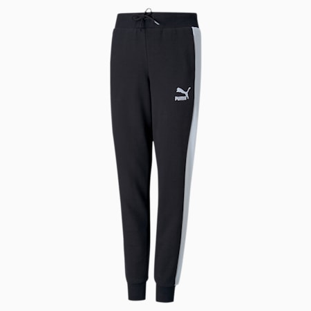 Classics T7 Girls' Sweatpants, Puma Black, small
